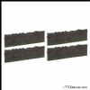 FARISH 42-595 Sleeper Built Fencing (x4) * PRE ORDER £ 9.95 *
